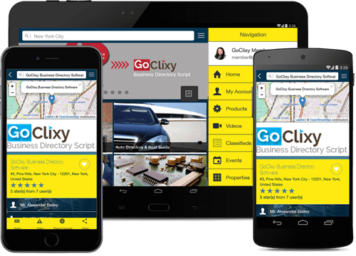 Get the Free Mobile App for your Business Directory